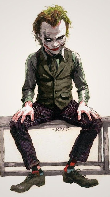 wallpaper Android 720x1280, fumetti, Joker