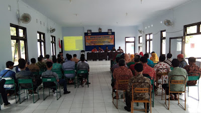 Rapat Pleno Terbuka Rekapitulasi Daftar Pemilih Tambahan Tahap 1 Pemilu 2019