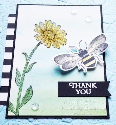 Heart's Delight Cards, Honey Bee, Detailed Bee Dies, SRC - Honey Bee, Stampin' Up!