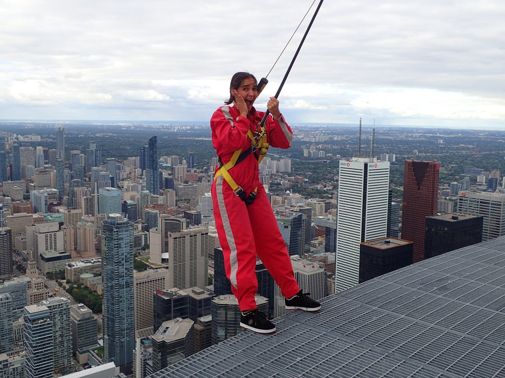 Edge Walk na CN Tower