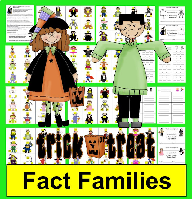https://www.teacherspayteachers.com/Product/Halloween-Math-SPOOK-tacular-Fact-Families-Addition-and-Subtraction-948650