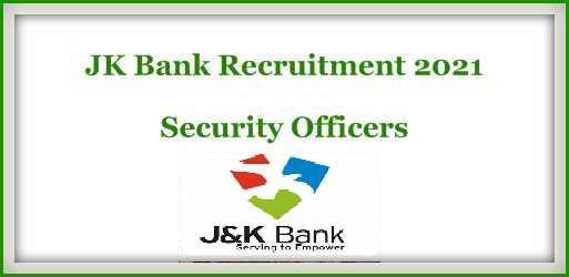 JK Bank Jobs