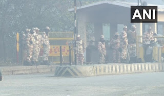चक्का जाम: दिल्ली एनसीआर में सुरक्षा के कड़े इंतजाम, चप्पे-चप्पे पर जवानों की तैनाती   #NayaSaberaNetwork