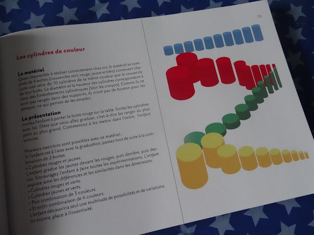 Cylindres de couleur Montessori