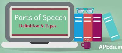 Spoken English Parts of speech.