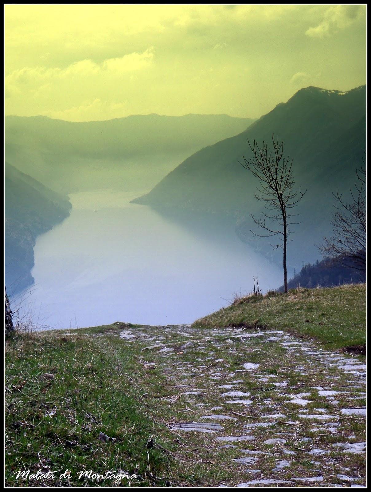 Malati di montagna alla cima della duaria tra antichi borghi e vecchie mulattiere - Riscaldare velocemente casa montagna ...
