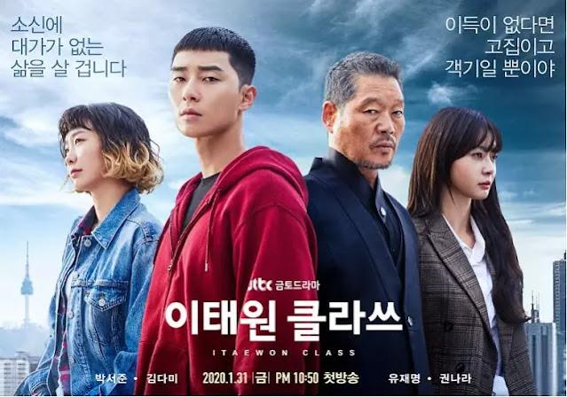 best inspiring korean drama, itaewon class 2020