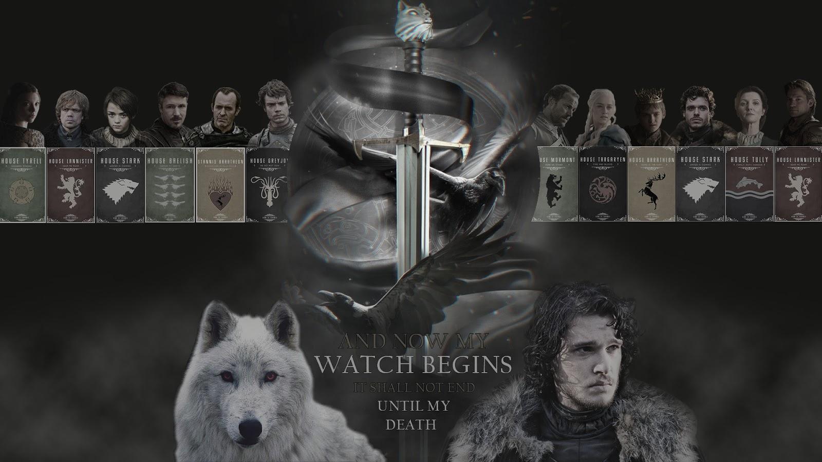 Game Of Thrones Season 6 Wallpapers: Fond D'écran Game Of Thrones (Le Trône De Fer