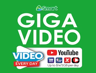Smart GIGA VIDEO – 1GB/Day Video Every Day plus Data