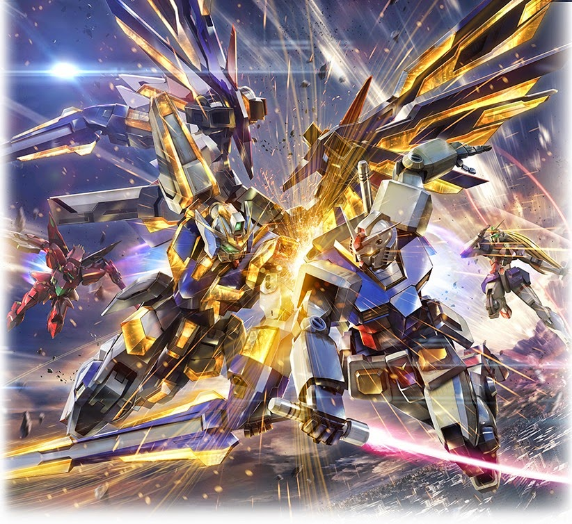 Gundam Extreme VS: MAXI BOOST - Wallpaper images - Gundam Kits Collection News and Reviews