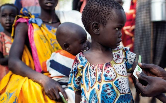Mass immunization campaigns in South Sudan