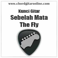 Chord Kunci Gitar The Fly Sebelah Mata