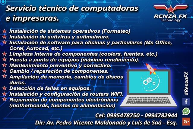Servicio técnico Riobamba