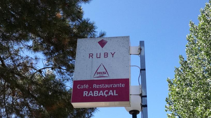 Placa Café Restaurante RABAÇAl