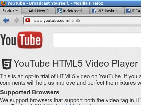 youtube html5