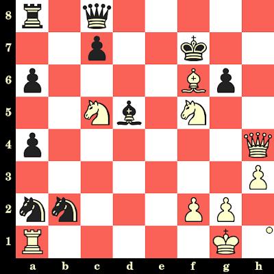 Les Blancs jouent et matent en 4 coups - Dimitar Pelitov vs Georgi Daskalov, Bulgarie, 1969