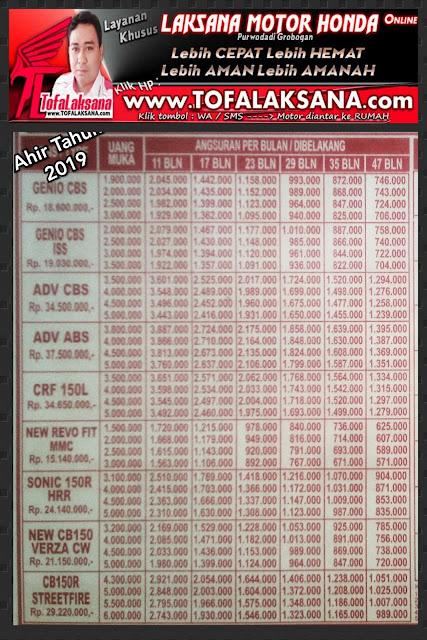 brosur-harga-kredit-motor-honda-dealer-laksana-2019-2020