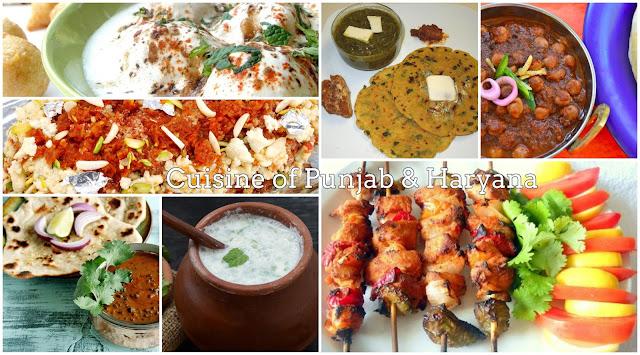 Cuisine of Punjab & Haryana