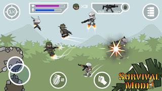 Doodle Army 2 Mini Militia Unlocked Apk