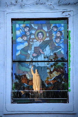Mosaic window, Cebu Metropolitan Cathedral, Cebu,Philippines