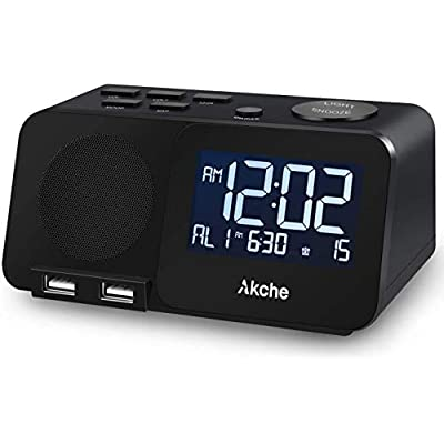 Bedrooms Night Light Digital Alarm Clock 60%OFF