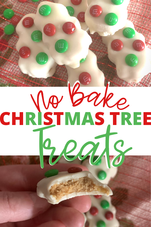 No Bake Christmas Tree Treats