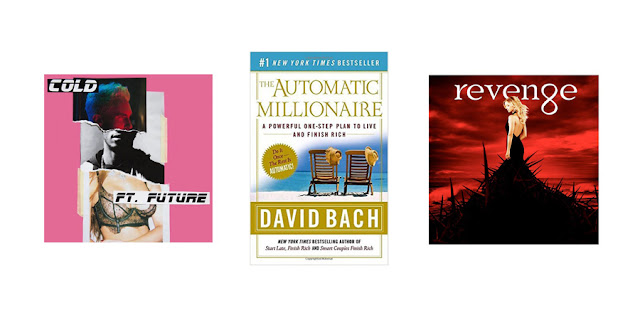 College Blogger, Lifestyle Blogger, Cold by Maroon 5, The Automatic Millionaire by David Bach, Revenge on ABC