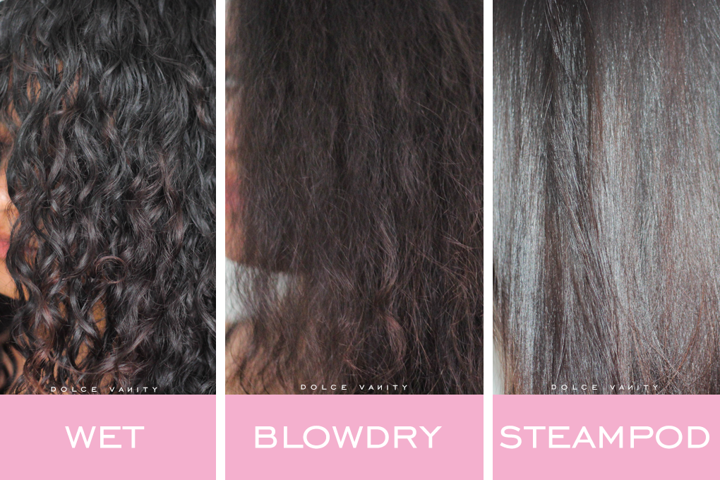 L Oreal claim the results using the Steampod are up to 50% faster and 50%  smoother than a regular straightener   with the steam being indirect heat 9a40b14812e
