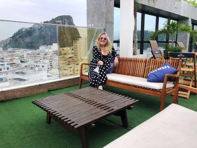 Cobertura do Hotel Pestana Rio Atlântica