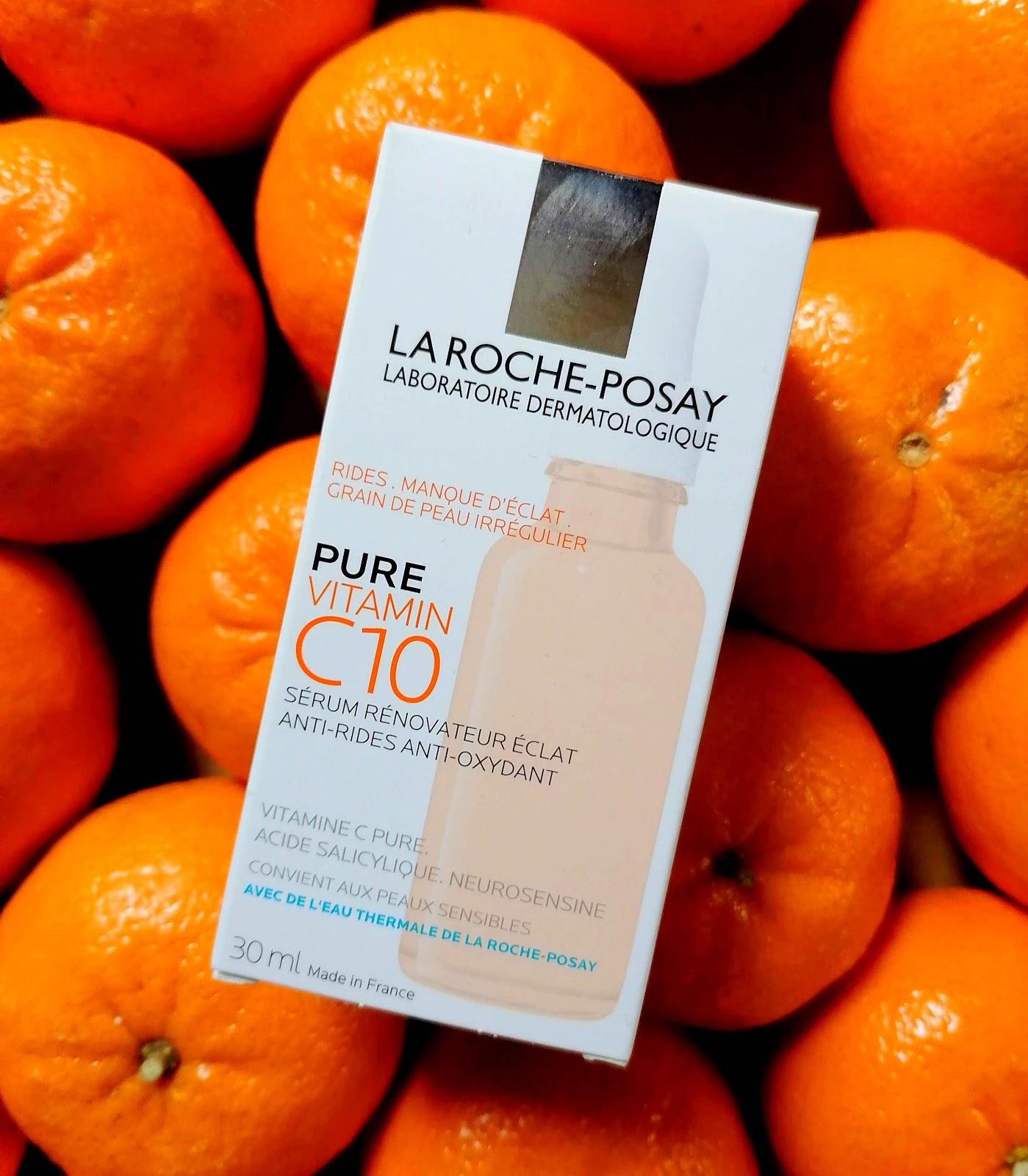 Pure Vitamin C10 LA ROCHE-POSAY : un shot de vitamine C pour booster l'éclat de la peau!