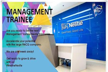 Lowongan Kerja Bandung Management Trainee Nestle Group