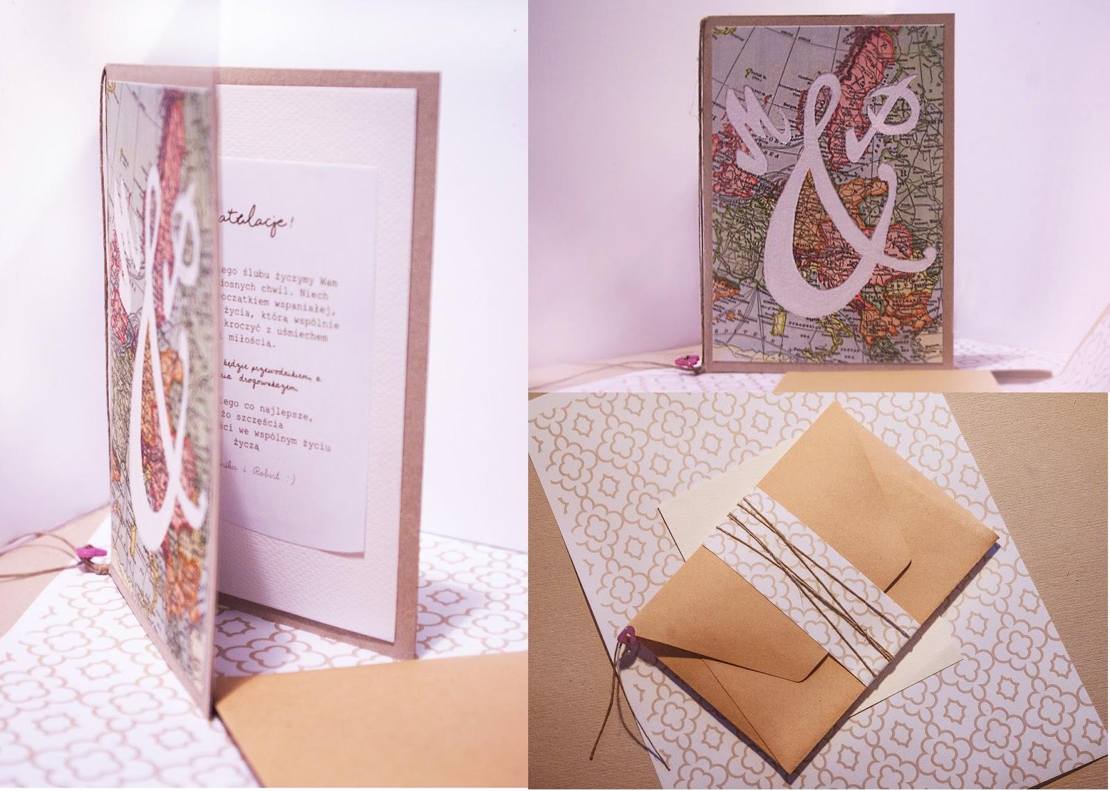 upominek | kartka DIY z życzeniami | pomysł na prezent zrób to sam