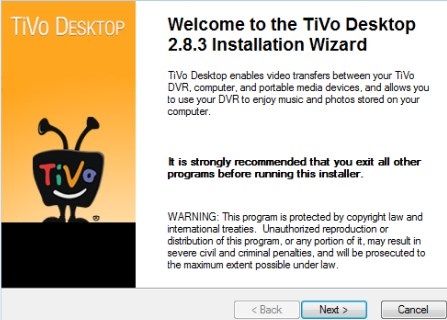 Tivo Desktop Download offline software