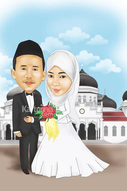 Karikatur Pernikahan Aceh