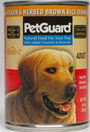 Picture of Petguard Chicken & Brown Rice & Herbs Dinner Canned Adult Dog Food