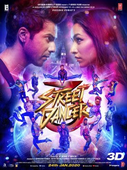 Varun Dhavan, Shraddha kapoor film Street Dancer 3D Crosses 50 Crore Mark in 7 days, 1st Bollywood Highest-Grossing of 2020 Wikipedia