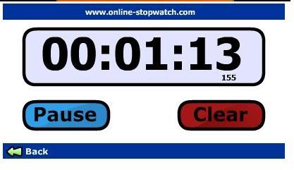 Cronometro Online 50/50
