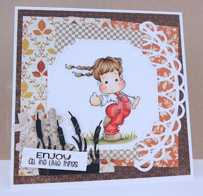 Heather's Hobbie Haven - Tilda Enjoying Summer Card Kit