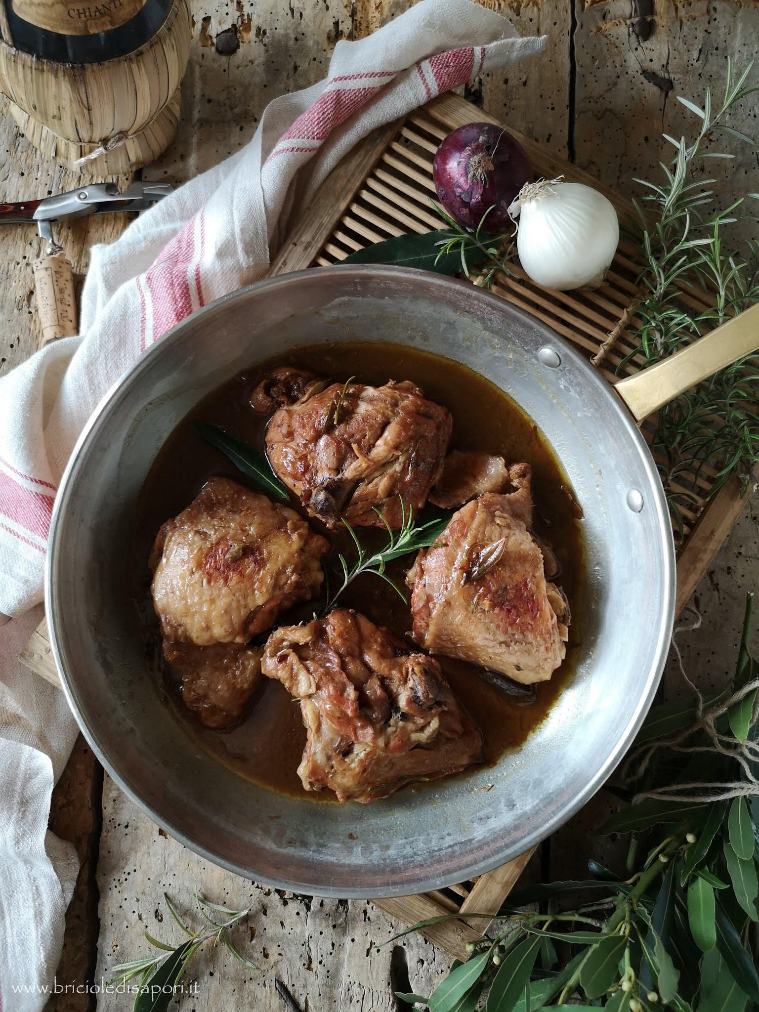 sovracosce di pollo al vin santo aceto balsamico