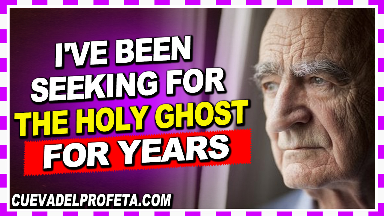 I've been seeking for the Holy Ghost for years - William Marrion Branham