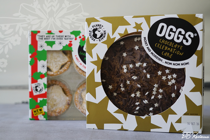OGGS Celebration Cake and Mince Pies