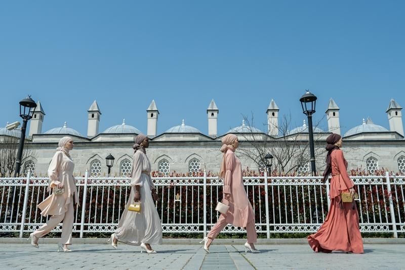 Modest modanın başkenti İstanbul'da şölen