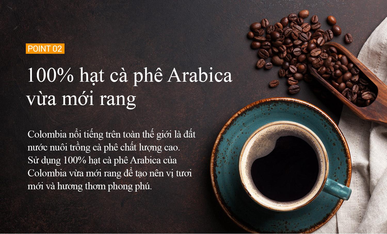 Cà phê hòa tan hương vị xoài Cafe Wild Mango