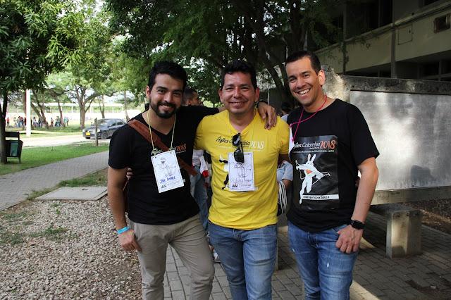 AgilesCo2018 - Jose Andres Sanchez, Jhon Araque y Alex Canizales