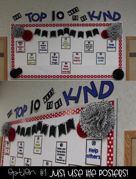 Kindness Bulletin Board Display