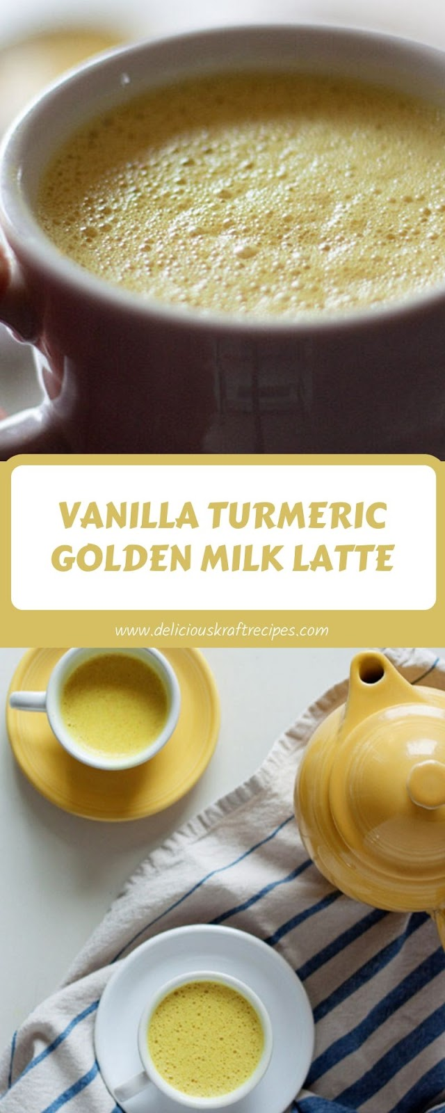 VANILLA TURMERIC GOLDEN MILK LATTE
