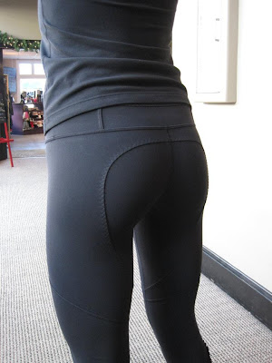 lululemon dressage pant ruffle zipper