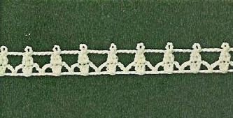 Patrón #1837: Encaje a Crochet