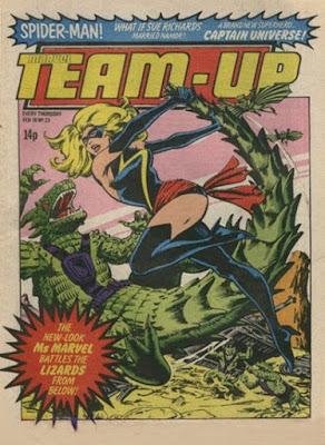 Team-Up #23, Ms Marvel