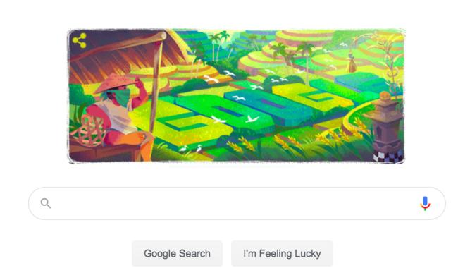 Mengenal Subak, Sistem Irigasi Yang ditampilkan di Google Doodle Hari ini